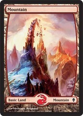 Mountain (244) - Full Art - Foil on Channel Fireball