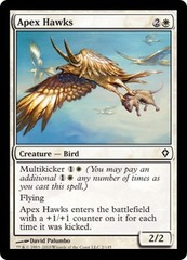 Apex Hawks - Foil on Channel Fireball