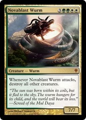 Novablast Wurm - Foil on Ideal808