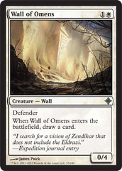 Wall of Omens - Foil on Channel Fireball