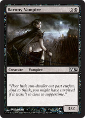 Barony Vampire - Foil on Channel Fireball