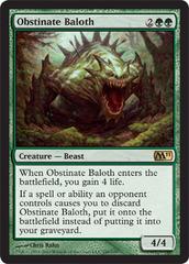 Obstinate Baloth - Foil