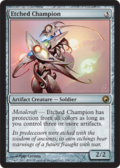 Etched Champion - Foil on Ideal808