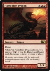 Flameblast Dragon - Foil on Ideal808