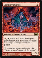 Grim Lavamancer - Foil on Ideal808