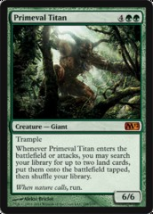 Primeval Titan - Foil on Ideal808