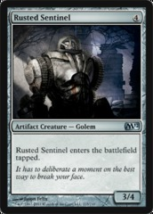 Rusted Sentinel - Foil