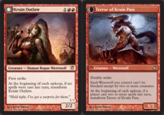Kruin Outlaw // Terror of Kruin Pass - Foil