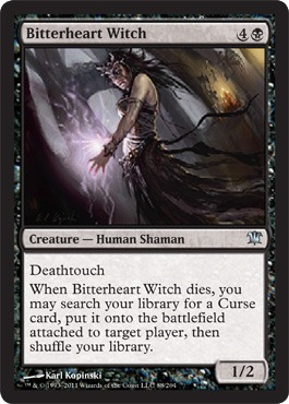 Bitterheart Witch - Foil