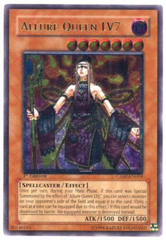 Allure Queen LV7 - CDIP-EN008 - Ultimate Rare - Unlimited Edition