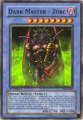 Dark Master - Zorc - DCR-082 - Super Rare - Unlimited Edition