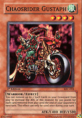 Chaosrider Gustaph - IOC-018 - Super Rare - Unlimited Edition