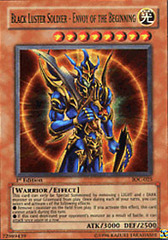 Black Luster Soldier - Envoy of the Beginning - IOC-025 - Ultra Rare - Unlimited Edition