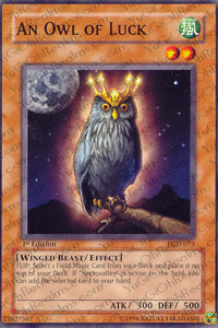 An Owl of Luck - PGD-073 - Common - Unlimited Edition