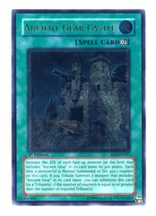 Ancient Gear Castle - SOI-EN047 - Ultimate Rare - Unlimited Edition on Channel Fireball