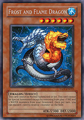 Frost and Flame Dragon - TAEV-EN033 - Secret Rare - Unlimited Edition