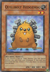 Quillbolt Hedgehog - TDGS-EN003 - Common - Unlimited Edition