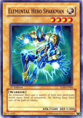Elemental Hero Sparkman - TLM-EN004 - Common - Unlimited Edition