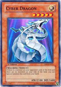 Cyber Dragon - CRV-EN015 - Super Rare - Unlimited Edition