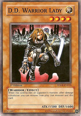 D.D. Warrior Lady - SDDE-EN010 - Common - Unlimited Edition