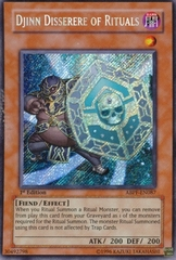 Djinn Disserere of Rituals - ABPF-EN087 - Secret Rare - Unlimited Edition