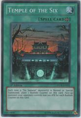 Temple of the Six - STOR-EN051 - Super Rare - Unlimited Edition