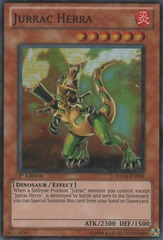 Jurrac Herra - HA04-EN018 - Super Rare - Unlimited Edition