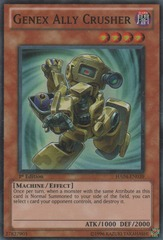 Genex Ally Crusher - HA04-EN039 - Super Rare - Unlimited Edition