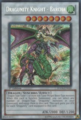 Dragunity Knight - Barcha - HA04-EN059 - Secret Rare - Unlimited Edition