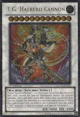 T.G. Halberd Cannon - EXVC-EN043 - Ultimate Rare - Unlimited Edition