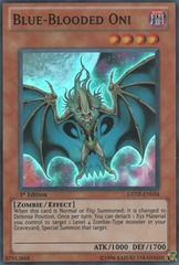 Blue-Blooded Oni - GENF-EN034 - Super Rare - Unlimited Edition