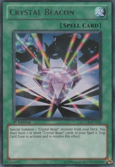Crystal Beacon - LCGX-EN163 - Rare - 1st Edition
