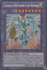 Elemental HERO Shining Flare Wingman - LCGX-EN050 - Secret Rare - 1st Edition