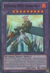 Elemental HERO Magma Neos - LCGX-EN064 - Super Rare - 1st Edition