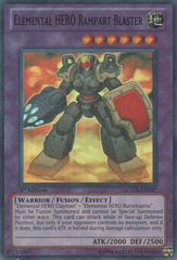 Elemental HERO Rampart Blaster - LCGX-EN047 - Super Rare - 1st Edition