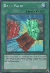 Rare Value - LCGX-EN164 - Super Rare - 1st Edition