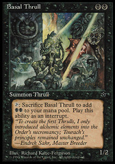 Basal Thrull (Richard Kane-Ferguson) on Channel Fireball
