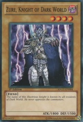 Zure, Knight of Dark World - SDGU-EN004 - Common - 1st Edition