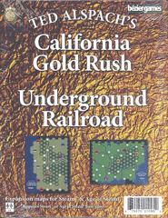 Age of Steam Expansion: California Gold Rush & Underground Railroad