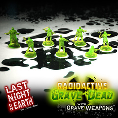 Last Night on Earth 'Radioactive Zombies with Grave Weapons' supplement