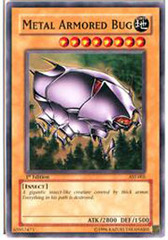 Metal Armored Bug - AST-005 - Common - 1st Edition