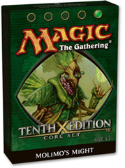 10th Edition Theme Deck - Molimo's Might