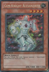 Gem-Knight Alexandrite - HA05-EN004 - Secret Rare - 1st Edition on Channel Fireball