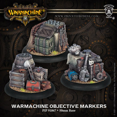 Warmachine Objective Markers