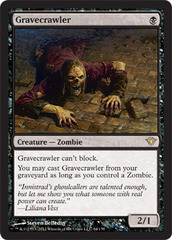 Gravecrawler - Foil on Channel Fireball
