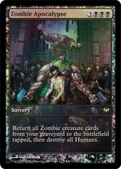Zombie Apocalypse - Extended Art Game Day Promo