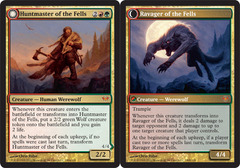Huntmaster of the Fells // Ravager of the Fells - Foil