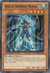 Aqua Armor Ninja - ORCS-EN015 - Common - 1st Edition