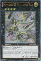 Number C39: Utopia Ray - ORCS-EN040 - Ultimate Rare - 1st Edition