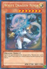 White Dragon Ninja - ORCS-EN084 - Secret Rare - 1st Edition